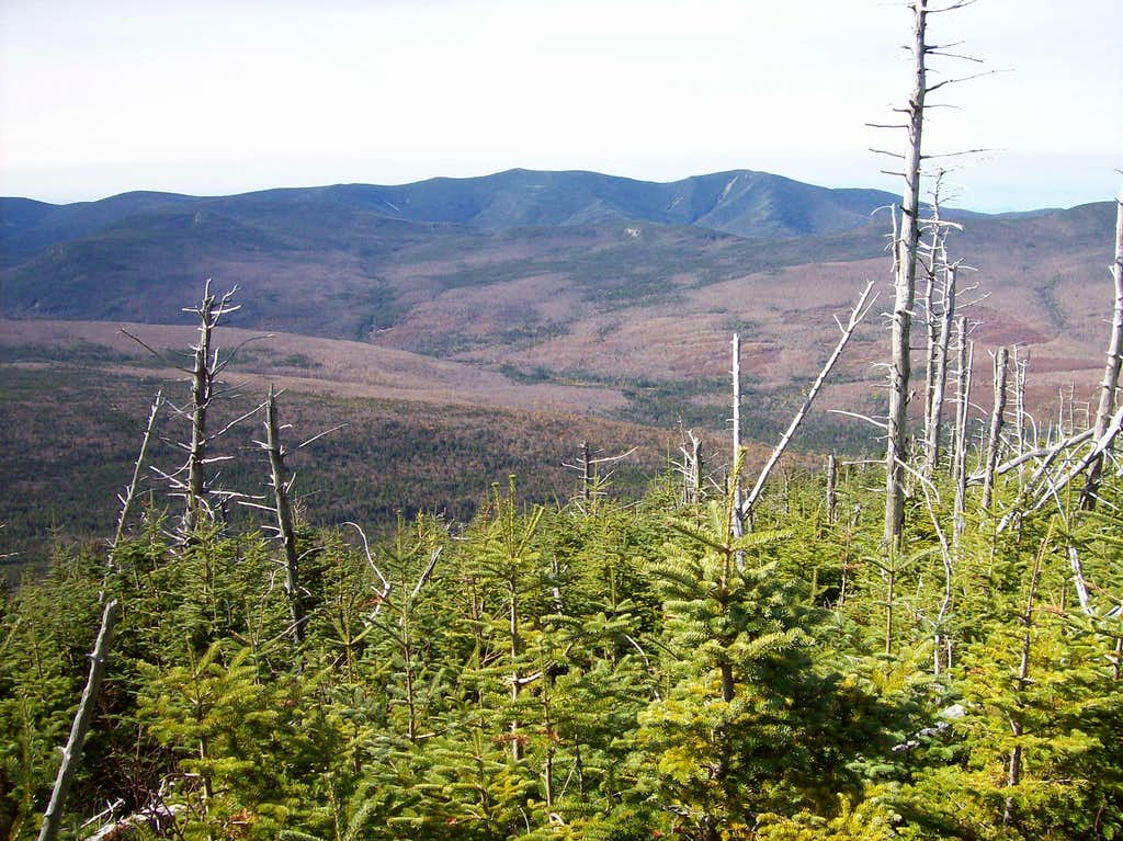 Looking into the Pemigewasset Wilderness