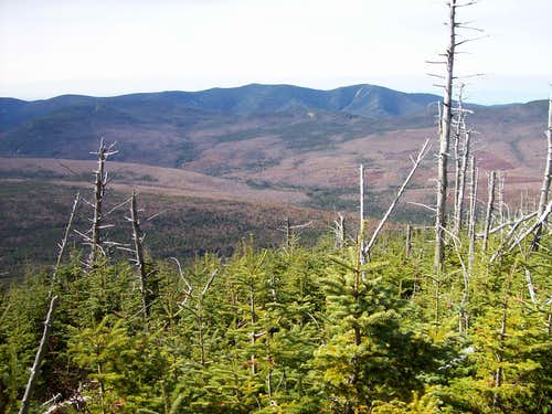 Looking into the Pemigewasset Wilderness