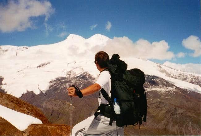 Elbrus from Cheget