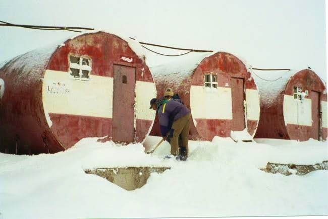 The Barrels Hut on Elbrus. It...