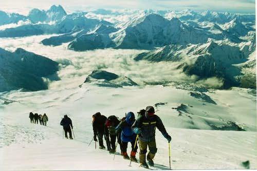 On the way to Elbrus. Ushba...
