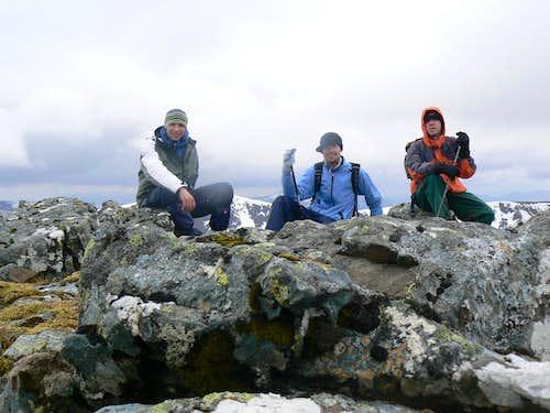 On the summit..