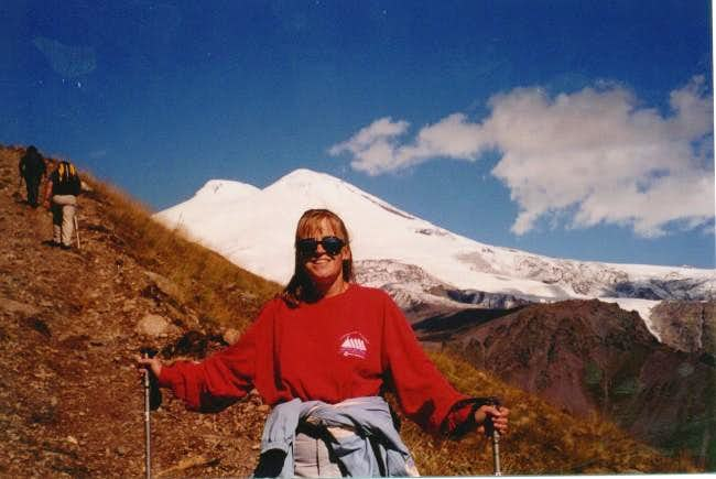 Mt. Elbrus from the slopes of...