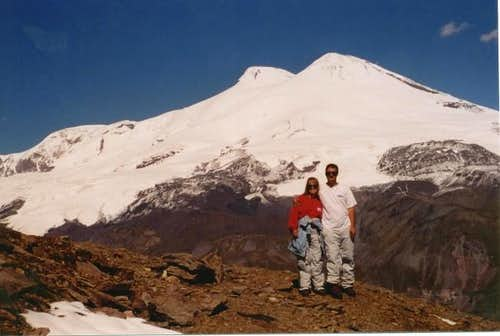 Elbrus from the slopes of...
