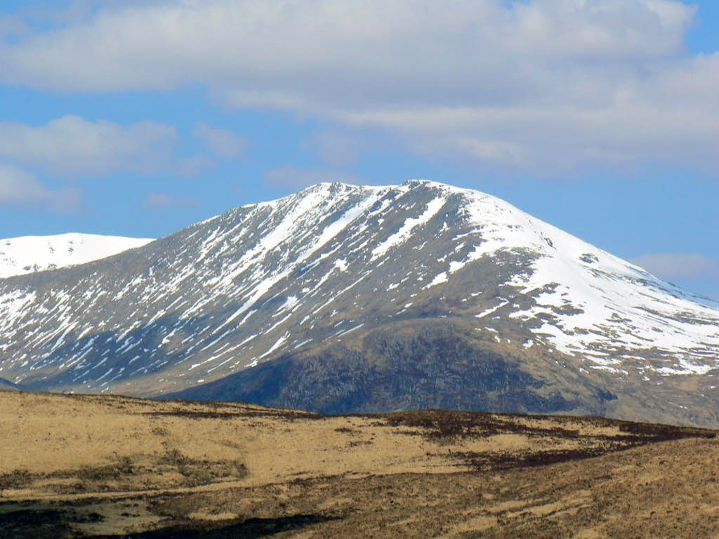 Meall a'Bhuiridh from the south.