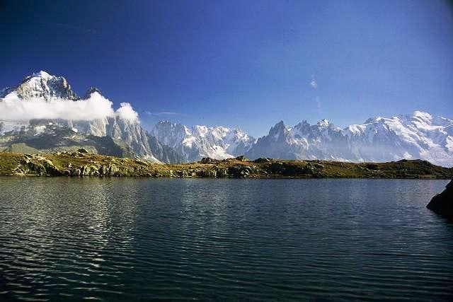 Mont Blanc (4810) massif