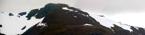 SE side of Stob a' Ghlais Choire