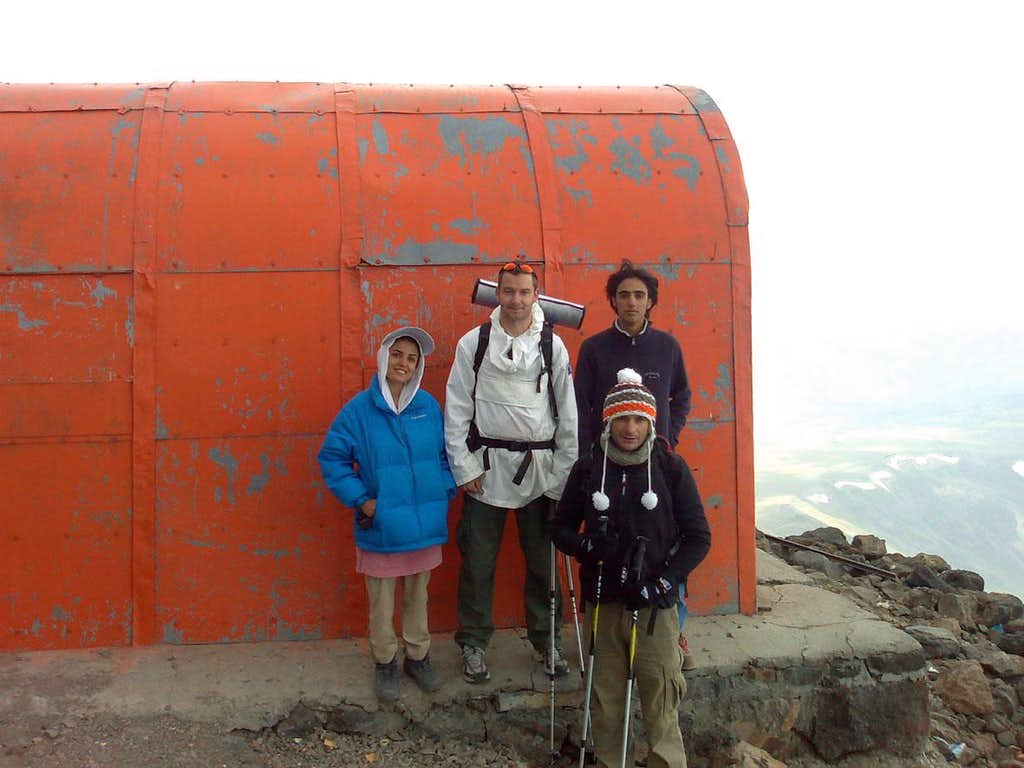 Damavand...Camp 2 (5000m)