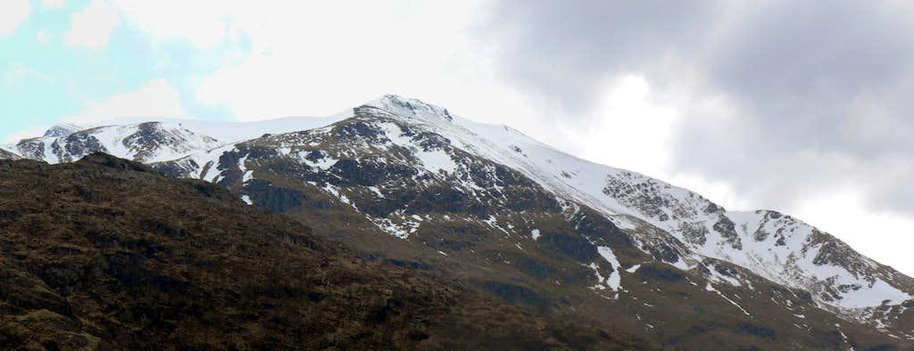 Sgurr a'Mhaim(1099m)