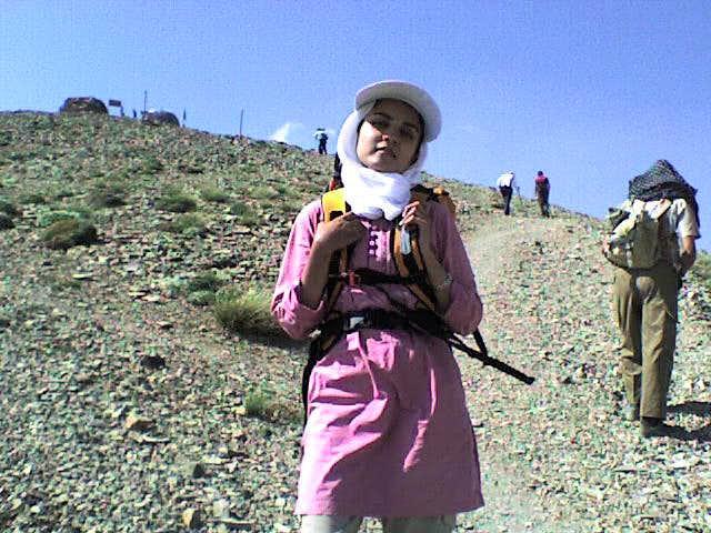 Way to Tochal Peak