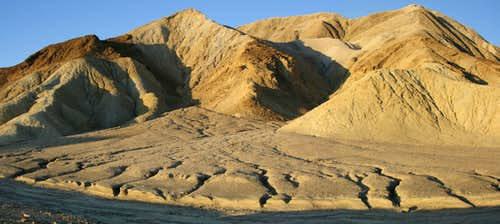 Badlands Panorama, Dawn