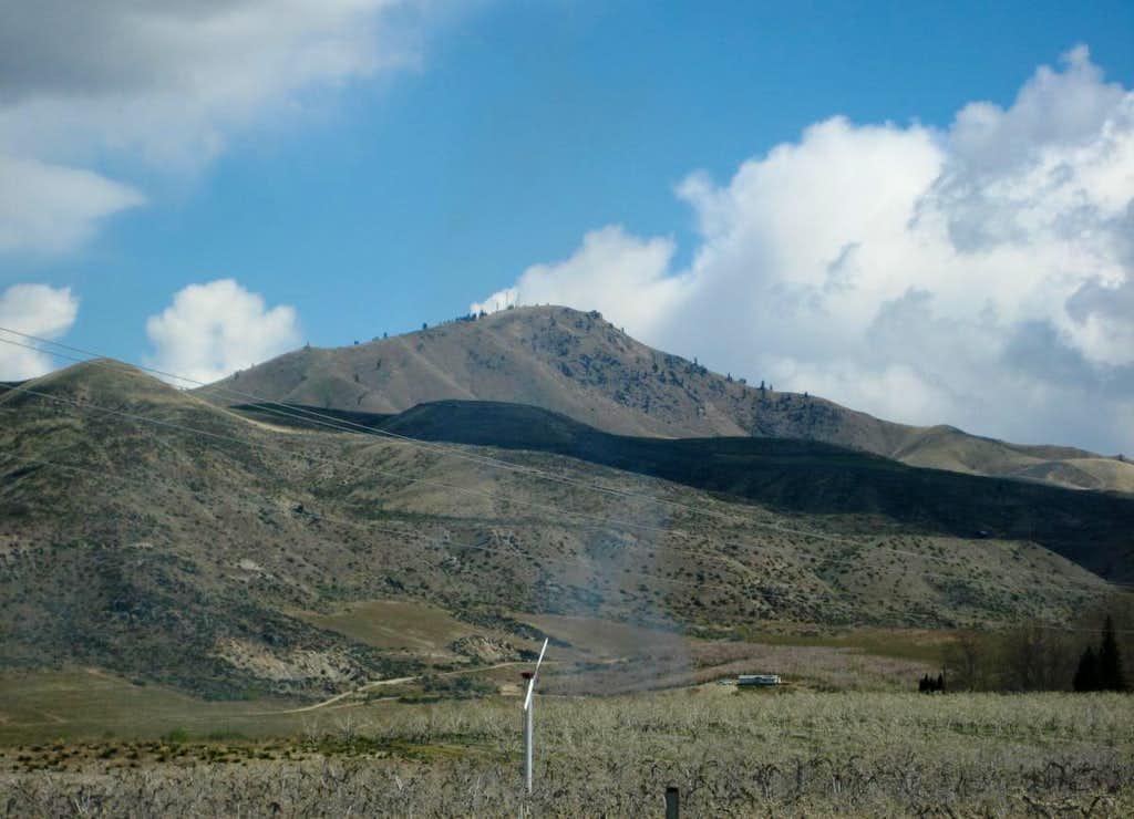 Chelan Butte fr SSW