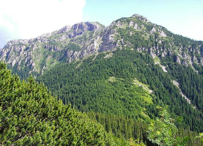 Kominiarski from Ornak Range