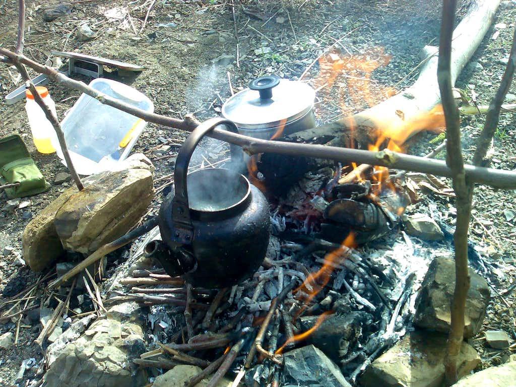 Roodak...Making Tea