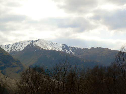 Mullach nan Coriean (939m)