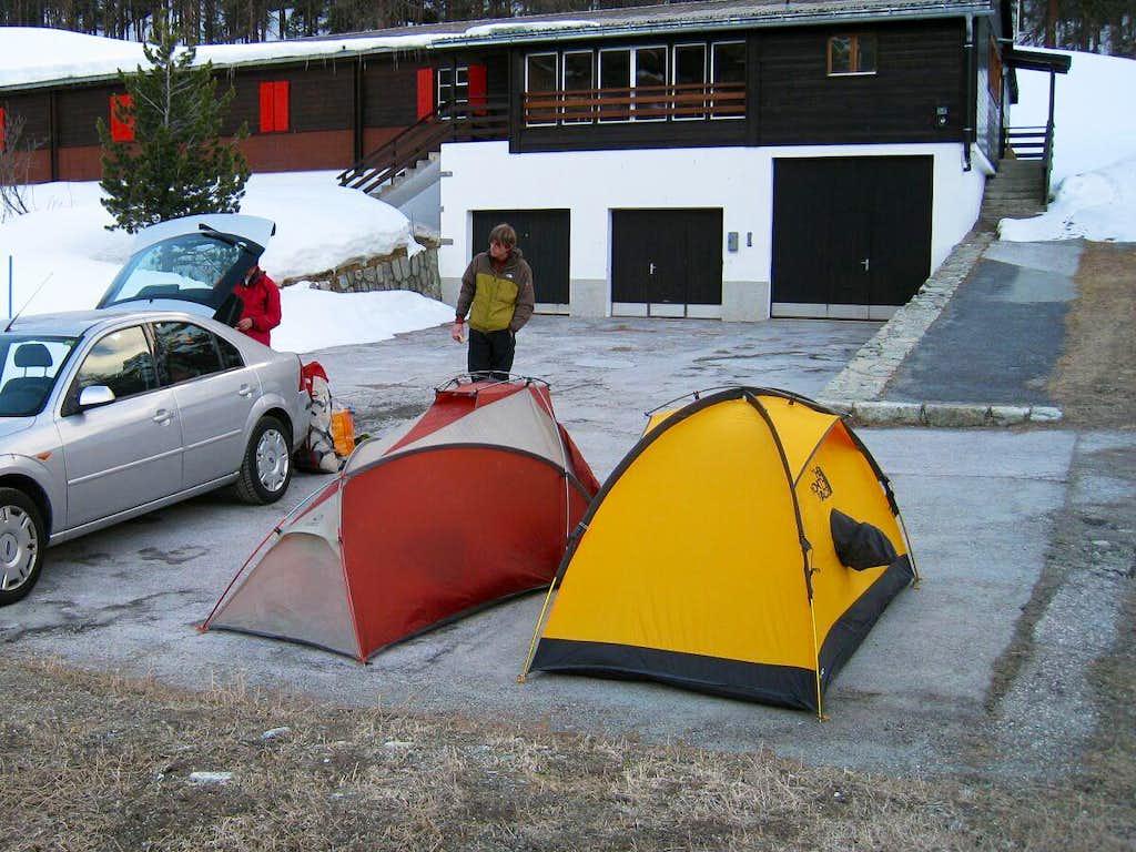 Parkingspot near Arolla