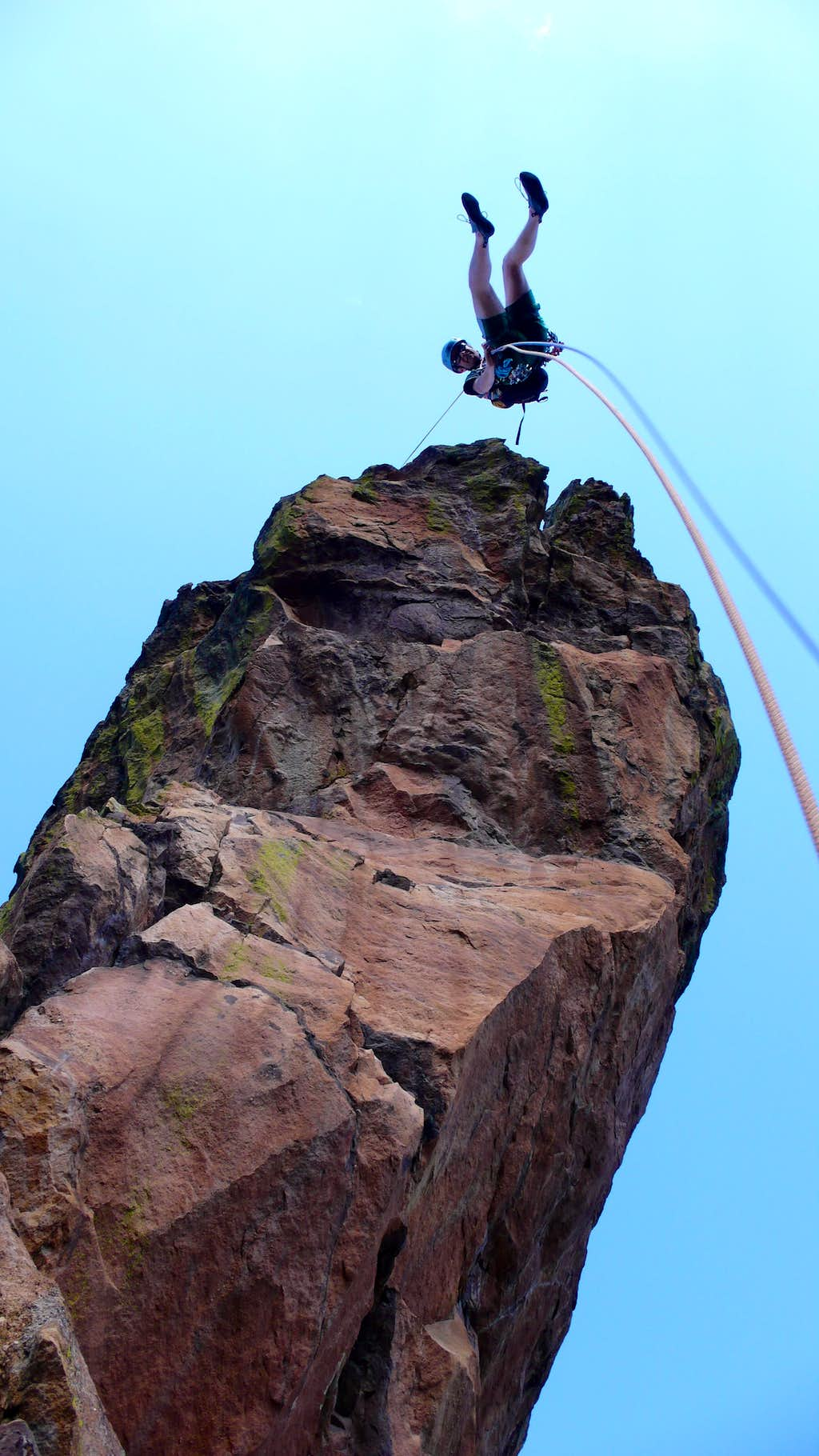 The Maiden's Famous Free Rappel