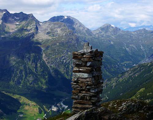 Seehorn summit Cairn