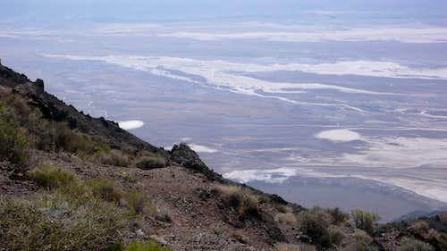 Salt Pan from Dante's View