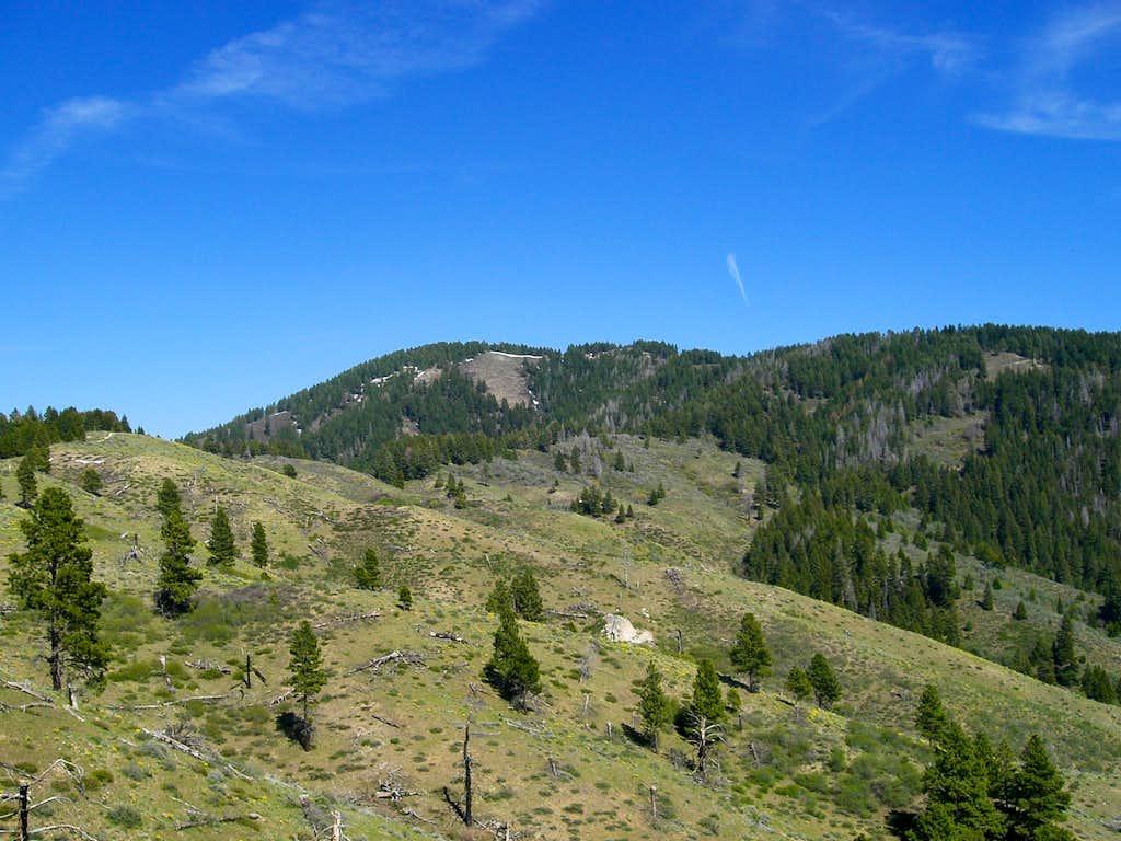 Boise Peak from Pt. 5348