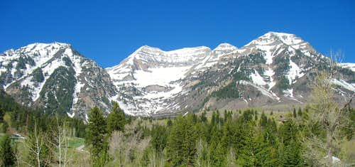 Timpanogos from Sundance