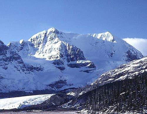 Mount Andromeda from the north.
