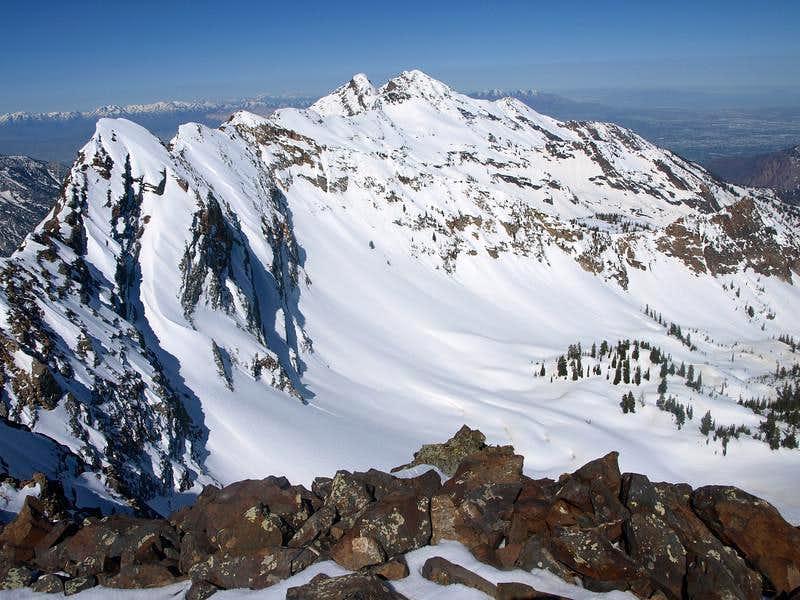 Cottonwood ridge from Monte Cristo