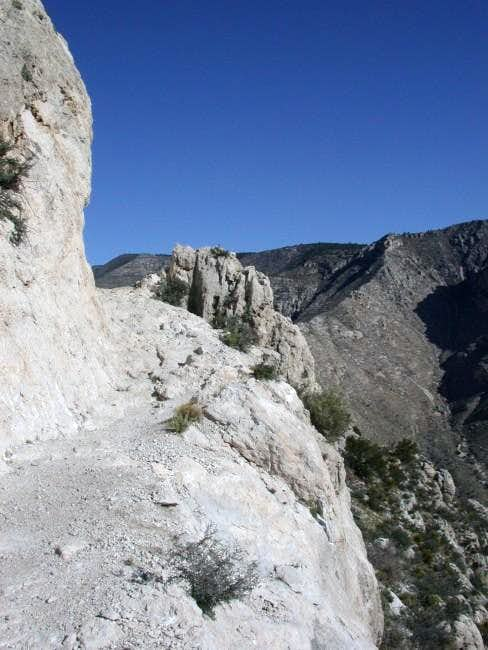 Guadalupe Peak Trail. 18 Apr...