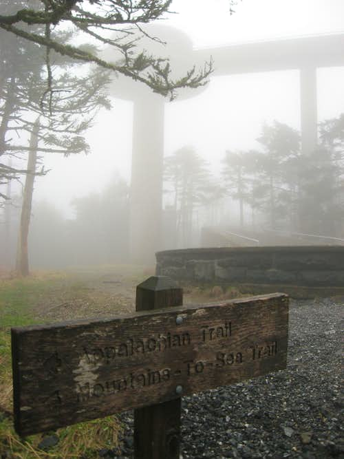 Appalachian Trail at it's Highest Point
