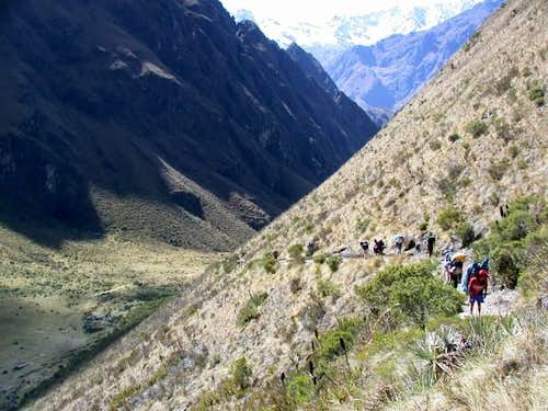 Day 2: Porters and trekkers...
