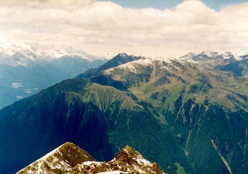 Otzaler Alps - Italian side