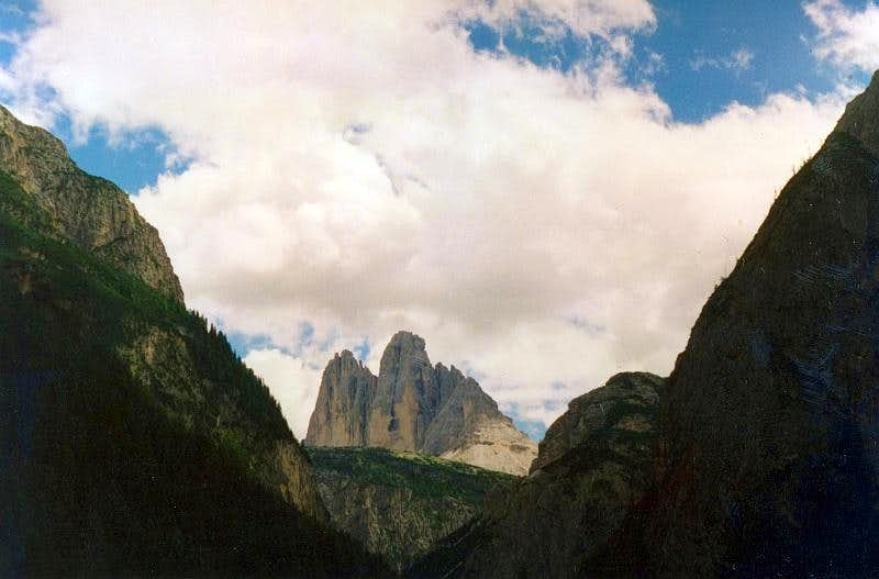 Long time ago in Dolomites