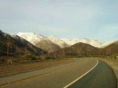 Lytle Creek Snow
