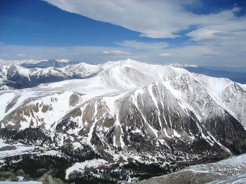 Mt. Antero from Tabeguache Peak