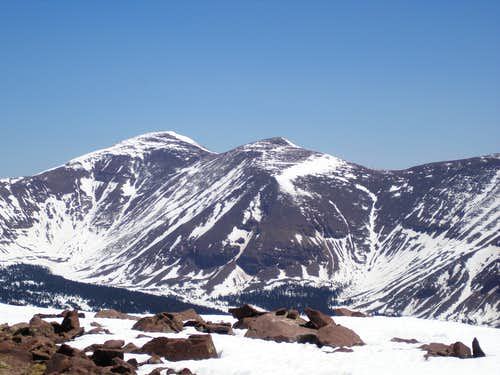 Mount Emmons and South Mount Emmons