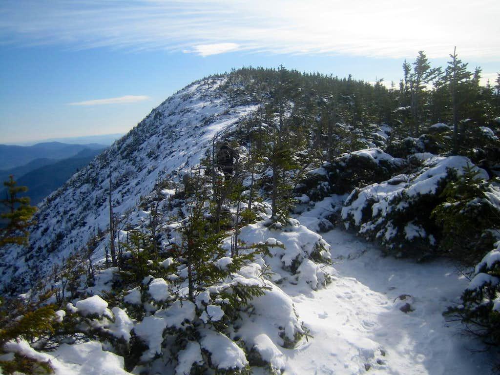 going back down Signal Ridge
