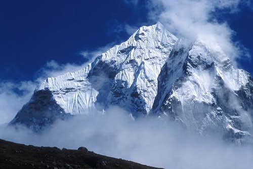 Ama Dablam from Dingpoche