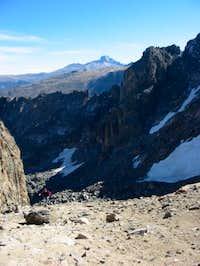 Looking toward the summit...