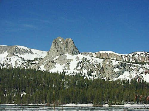 Crystal Crag from Lake Mary