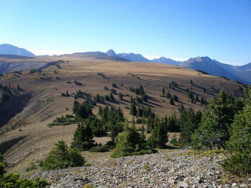 North ridge of Beulah