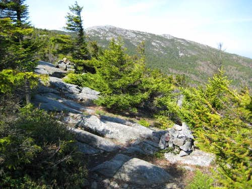 View of Mt. Monadnock . . .