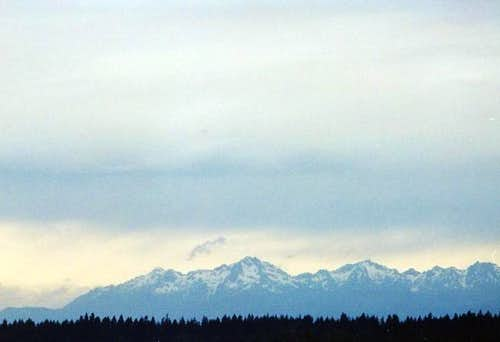 From the left, Mt Ellinor, Mt...