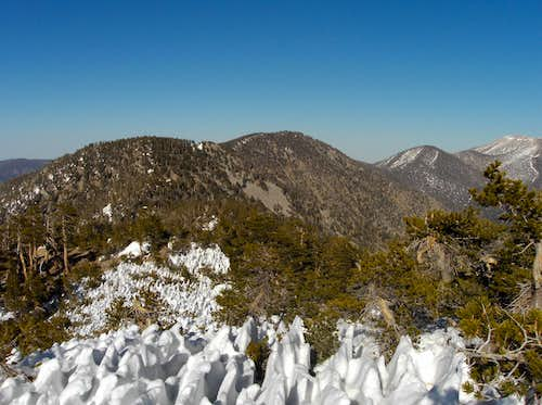 View from the San Bernardino Peak