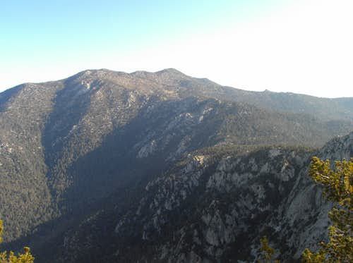 View of the San Jacinto\'s