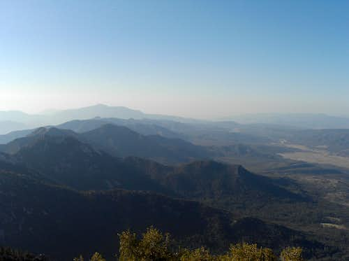 View from Tahquitz Peak