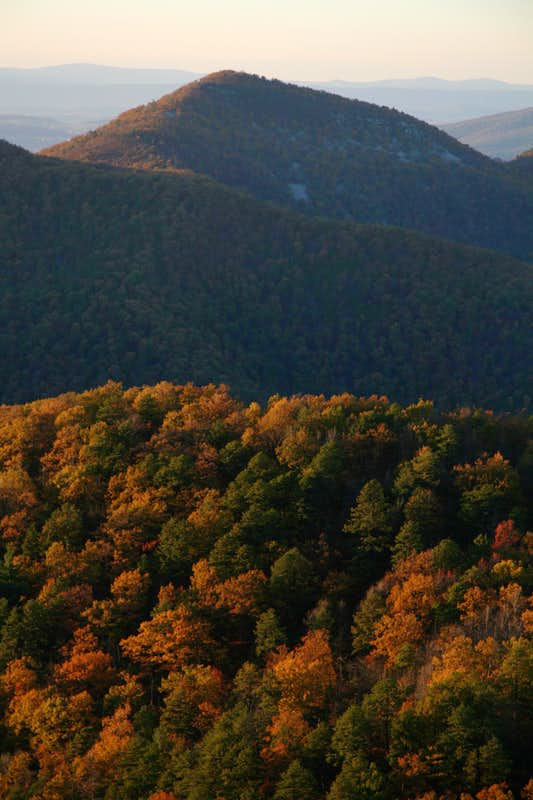 Rockytop Summit and Fall Colors