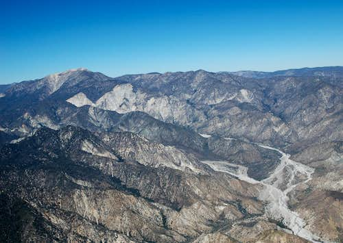 San Gorgonio, the San Gorgonio Wilderness & the Whitewater River Drainage