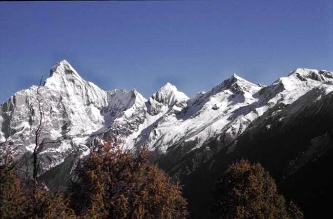 Four main peaks as seen on...