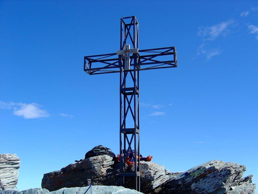 Summitcross of Ringelspitze 3247m