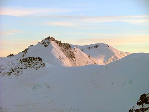 Gletscherhorn (3983m) & Äbeni Flue (3962m)